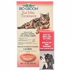 Капли для животных от ушного клеща Bio-Groom Ear Mite, 30 мл